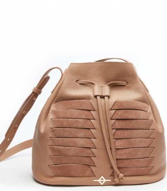 MUNI Beige Bucket bag