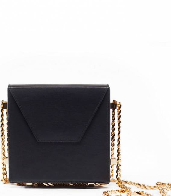 NERO Chain shoulder bag