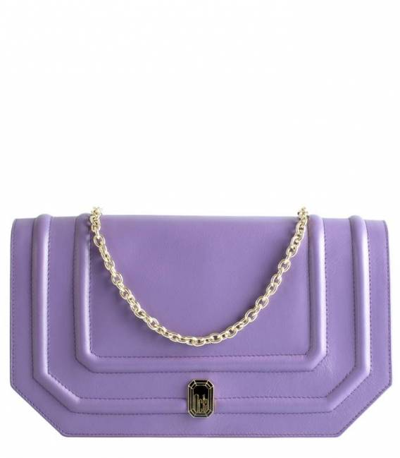 Shallow Bag Purple