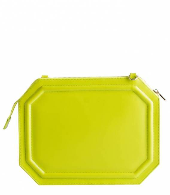 Candy Pop Clutch Apple green