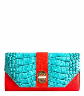Rindi Clutch bag Blue-red