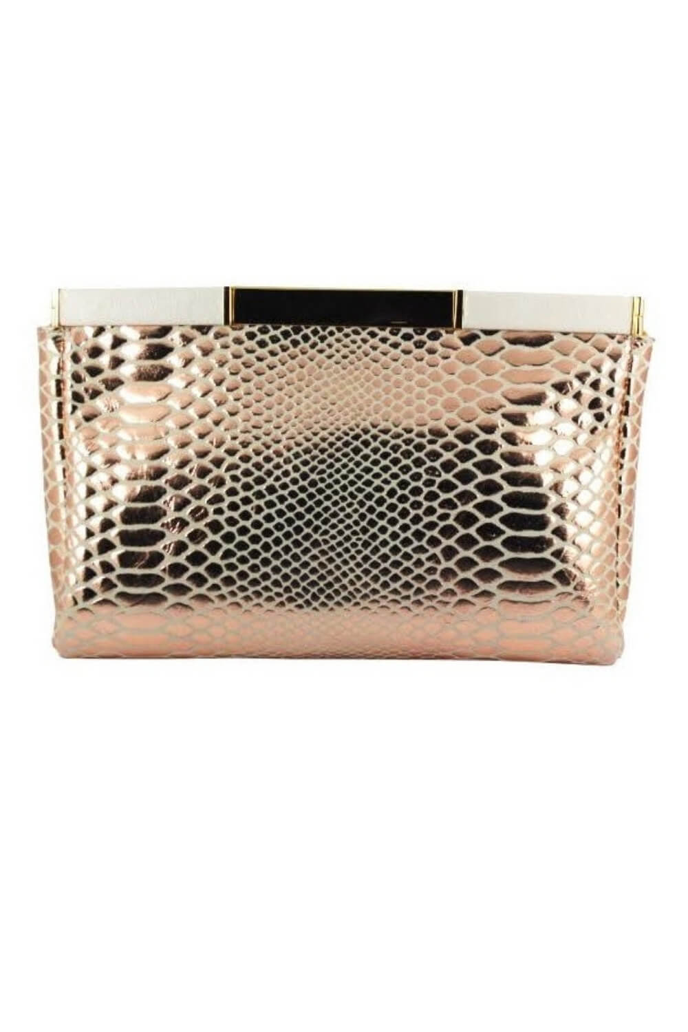 pochette mariage rose gold