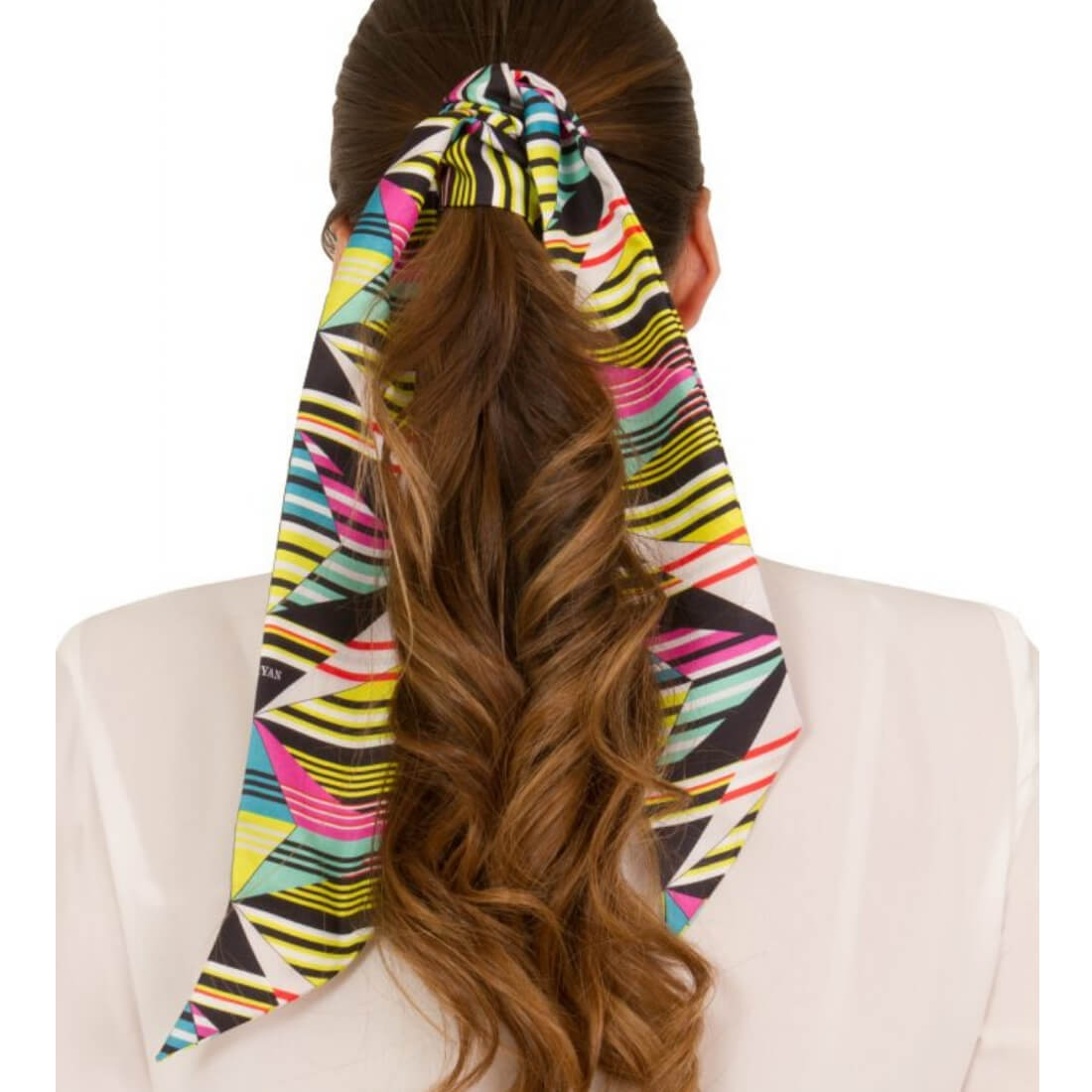 Foulard en soie ABSTRACT